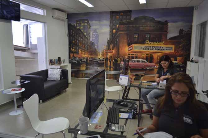 Investimento também foi feito nos escritórios que triplicaram e agora contam com 160m²