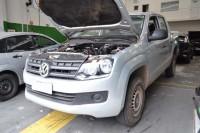 O carro era novo e estava judiado; defeito sugere equívoco no projeto