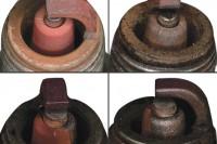 Ponta avermelhada na vela indica sinais de ferro na gasolina