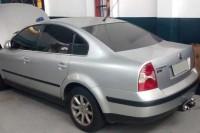 O VW Passat é praticamente novo, porém não recebeu a devida atenção