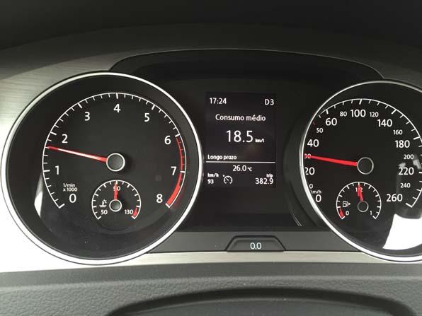 Antes de aplicar o produto, carro fez 18,5 km/l na estrada