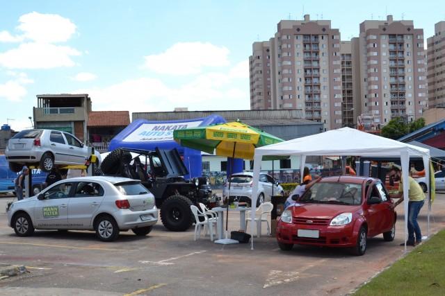 Ação ocorre no estacionamento do Telhanorte Aricanduva, na zona Leste de São Paulo